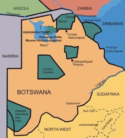 reisen namibia botswana
